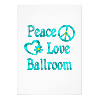 Peace Love Ballroom Announcements