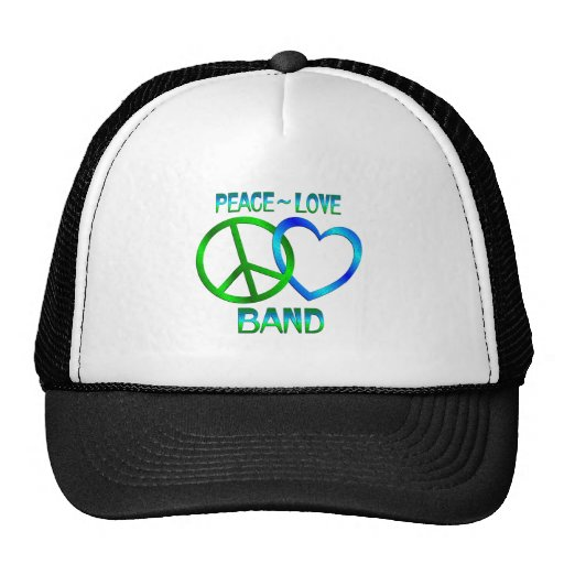 Peace Love BAND Hat