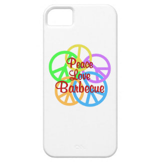 Peace Love Barbecue iPhone 5 Cases
