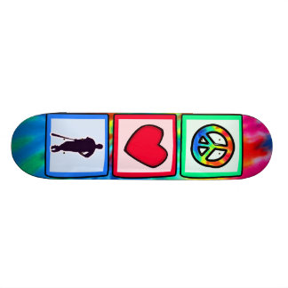 Peace, Love, Baseball; Skate Deck