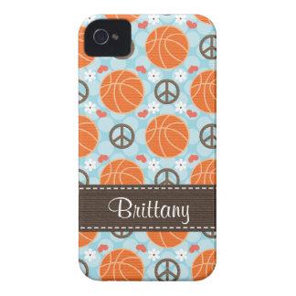 Peace Love Basketball Blackberry Bold Case