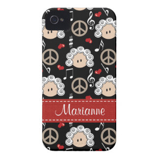 Peace Love Beethoven Blackberry Bold Case Cover