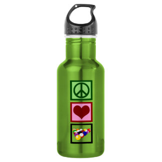 Peace Love Billiards 532 Ml Water Bottle
