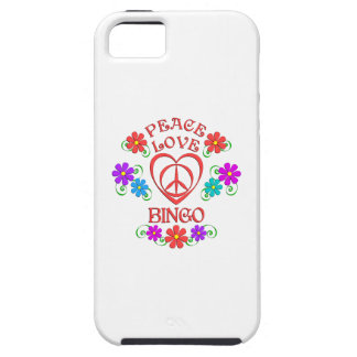 Peace Love Bingo iPhone 5 Cases
