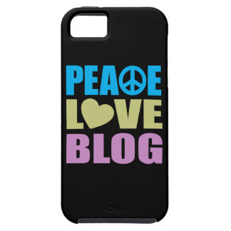 Peace Love Blog Case For The iPhone 5