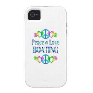 Peace Love Boating Case For The iPhone 4