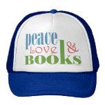 Peace Love Books II Cap