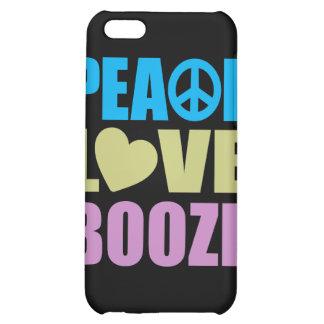 Peace Love Booze iPhone 5C Covers