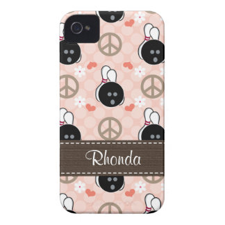 Peace Love Bowl Blackberry Bold Case Cover