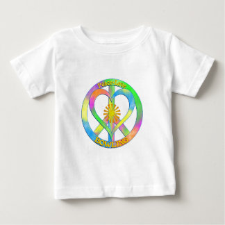 Peace Love Bowling Baby T-Shirt