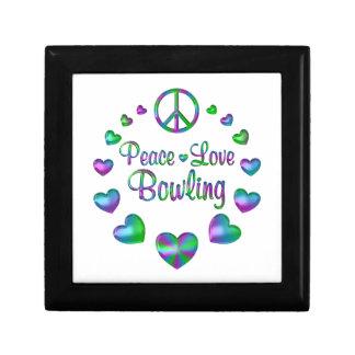 Peace Love Bowling Gift Box