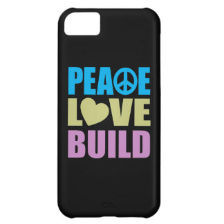 Peace Love Build iPhone 5C Case