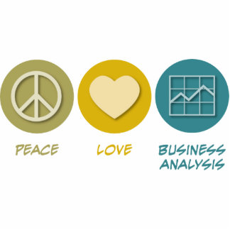 Peace Love Business Analysis Cut Outs
