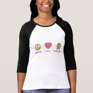 Peace, Love & Calculus Tshirt
