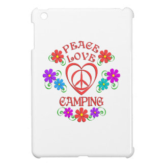 Peace Love Camping Case For The iPad Mini