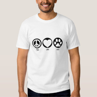 Peace Love Cats T-Shirt