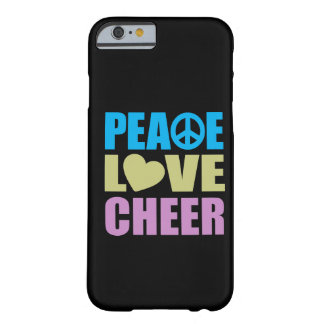 Peace Love Cheer Barely There iPhone 6 Case