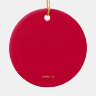 Peace Love Christie 2016 Ornament