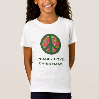 peace love christmas tee