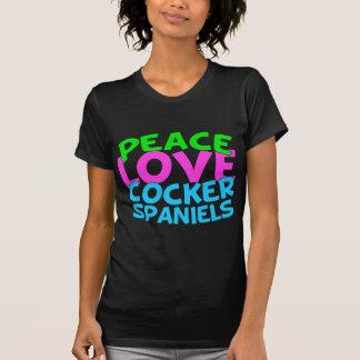 Peace Love Cocker Spaniels T-Shirt