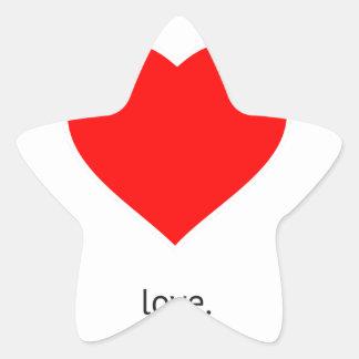 Peace Love Community Sticker