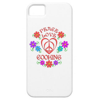 Peace Love Cooking Barely There iPhone 5 Case