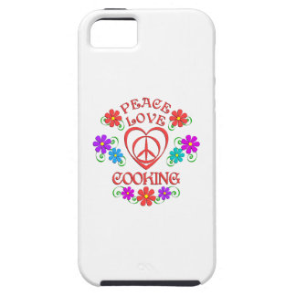 Peace Love Cooking iPhone 5 Cases