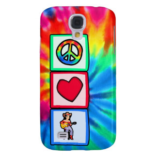Peace Love Country Music HTC Vivid Case