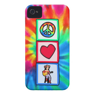 Peace Love Country Music Case-Mate iPhone 4 Case