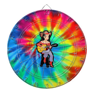 Peace, Love, Country Music Dartboard