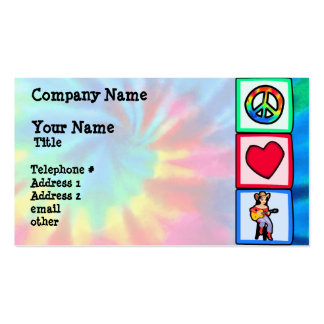 Peace, Love, Country Music Pack Of Standard Business Cards