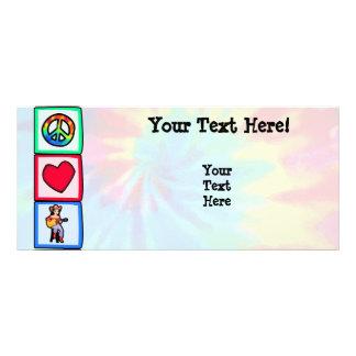 Peace Love Country Music Custom Rack Cards