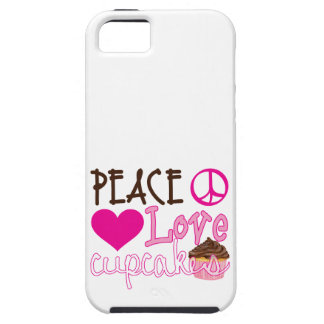 Peace, Love, Cupcakes iPhone 5 Covers