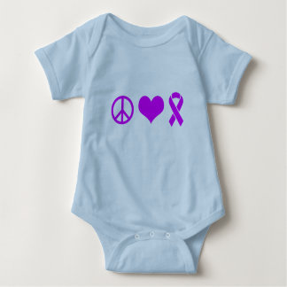 Peace Love Cure Alzheimer Tshirts