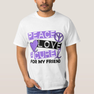 Peace Love Cure H Lymphoma Friend T-Shirt