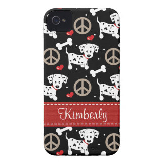 Peace Love Dalmatians Blackberry Bold Case Cover