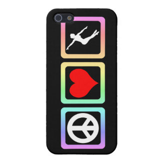 peace love dance iPhone 5/5S cases