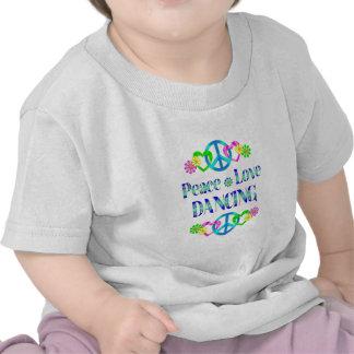 Peace Love Dancing T-shirt