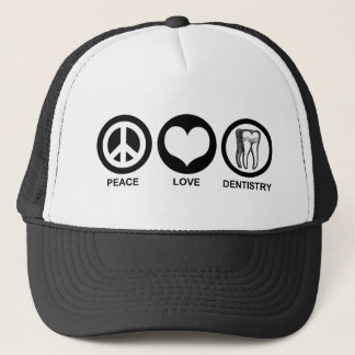 Peace Love Dentistry Hat