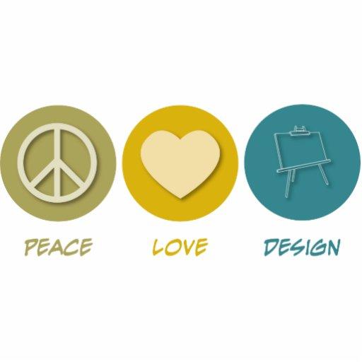 Peace Love Design Cut Outs