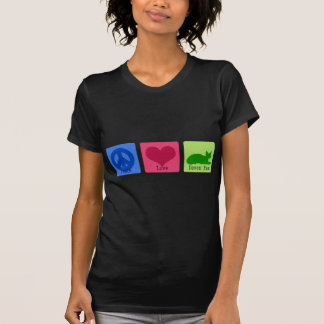 Peace Love Devon Rex T-Shirt