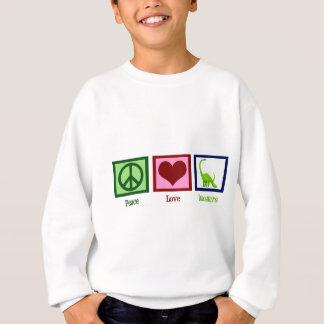 Peace Love Dinosaurs Sweatshirt