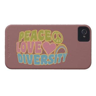 PEACE LOVE DIVERSITY Blackberry Bold case