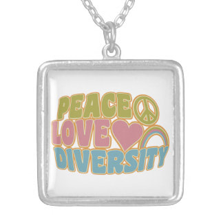 PEACE LOVE DIVERSITY necklace