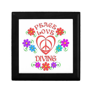 Peace Love Diving Gift Box