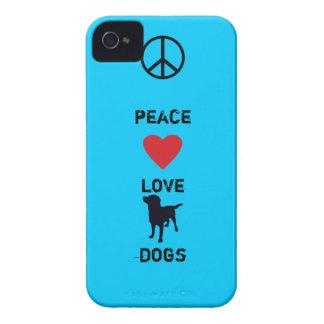 Peace Love Dogs Case-Mate iPhone 4 Case