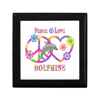 Peace Love Dolphins Gift Box