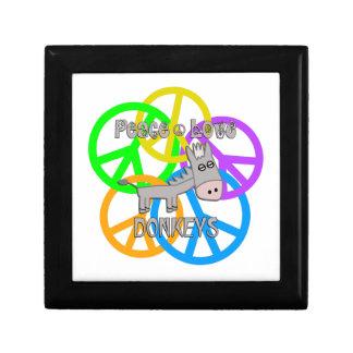 Peace Love Donkeys Gift Box
