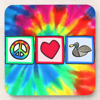 Peace, Love, Ducks Coaster