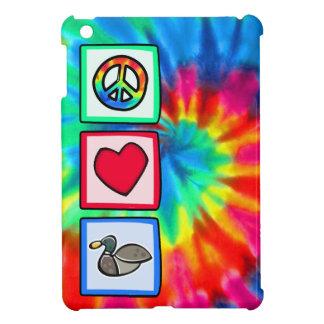 Peace, Love, Ducks Case For The iPad Mini